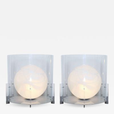 Carlo Nason AVMazzega Table Lamps Designed by Carlo Nason Made in Italy