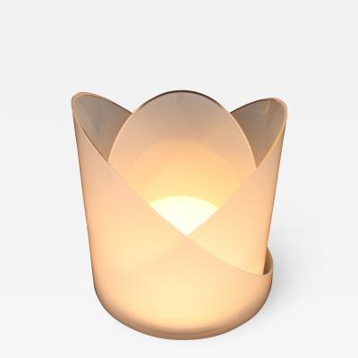 Carlo Nason Carlo Nason Model T300 Modulable Italian Sculptural Glass Table Lamp Mazzega
