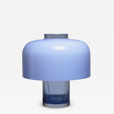 Carlo Nason Carlo Nason table lamp and vase for Mazzega Italy