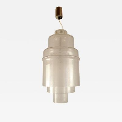 Carlo Nason Mid Century Modern Murano Glass Pendant Light by Carlo Nason for Mazzega Italy