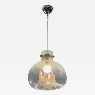 Carlo Nason Molded Glass Hanging Pendant by Carlo Nason for Mazzega Italy