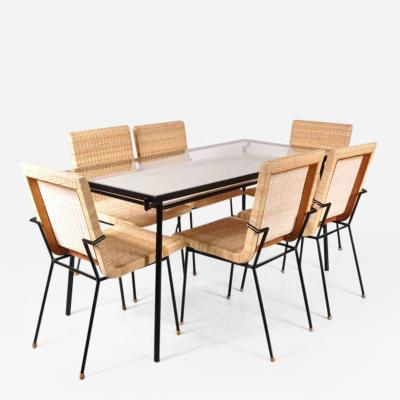 Carlo Pagani 1950s Dining Set by Carlo Pagani for Metz Co Netherlands