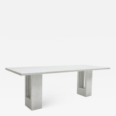 Carlo Scarpa DINING TABLE MOD DELFI DESIGNED BY CARLO SCARPA AND MARCEL BREUER