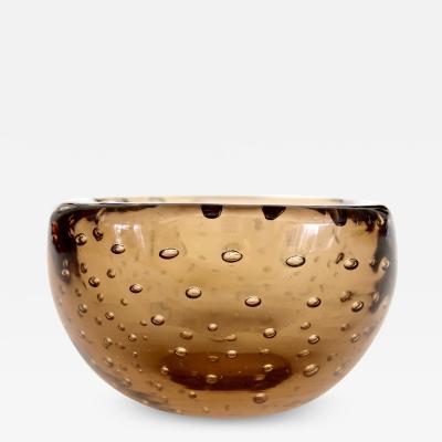 Carlo Scarpa Murano Bullicante Bowl Designed by Carlo Scarpa for Venini