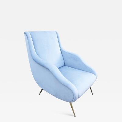 Carlo de Carli Carlo De Carli Attributed Lounge Chair Italy 1960s