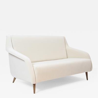Carlo de Carli Carlo di Carli Carlo De Carli 802 Model Two Seat Sofa by Cassina Italy