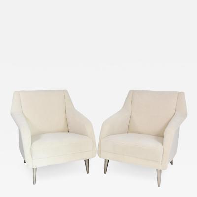 Carlo de Carli Carlo di Carli Pair of elegant armchairs Model 802