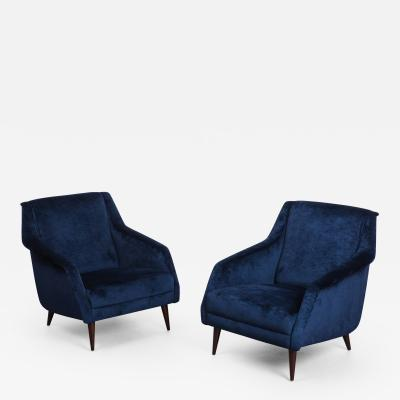 Carlo de Carli Pair of Armchairs Model 802 by Carlo de Carli for Cassina