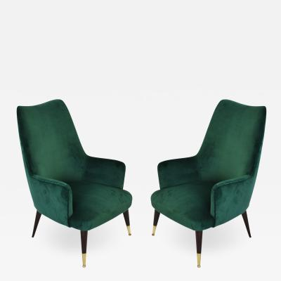 Carlo de Carli Set of 2 Armchairs In The Style Of Carlo De Carli