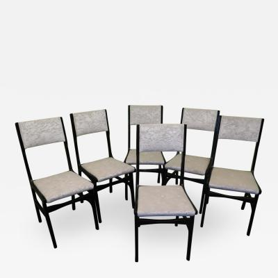 Carlo de Carli Set of 6 Chairs by Carlo de Carli