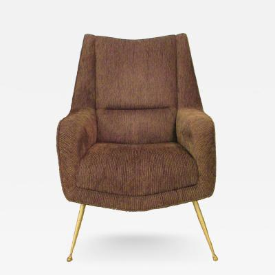 Carlo di Carli Italian Modern Upholstered Armchair Carlo di Carli