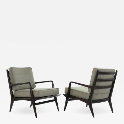 Carlo di Carli Lounge Chairs for M Singer Sons 1950s