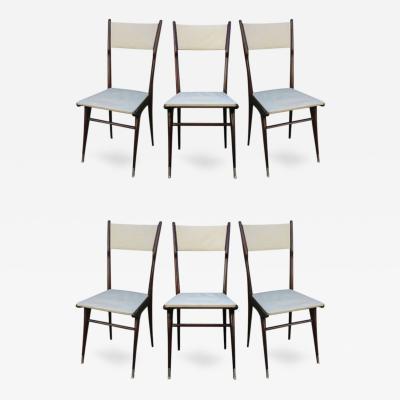 Carlo di Carli Six Carlo di Carli Style Dining Chairs