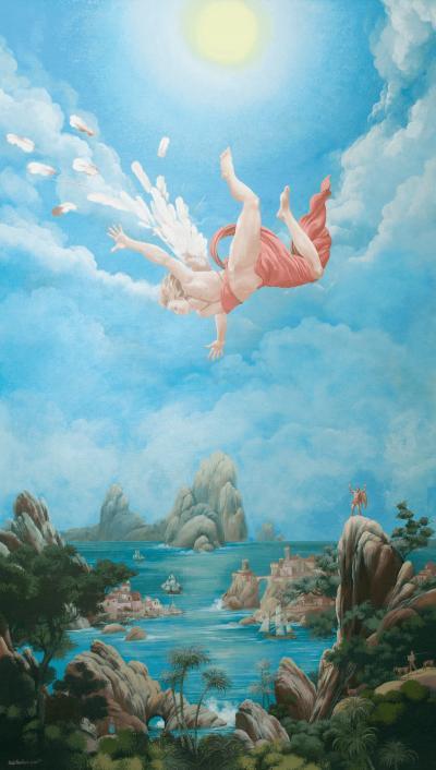 Carlos Marchiori Angel Falling by Carlos Marchiori