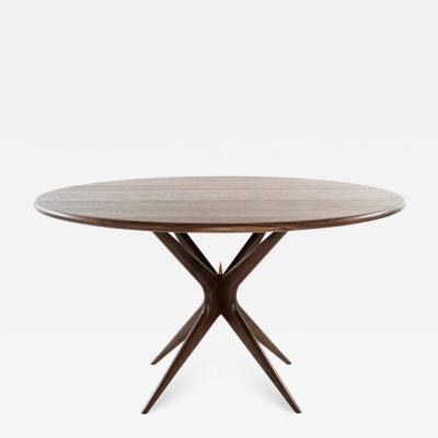 Carlos Solano Granda Stamford Moderns Gazelle Dining Table in Walnut