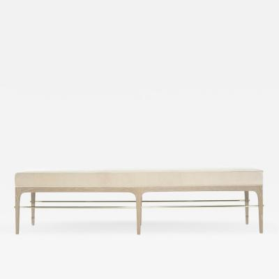 Carlos Solano Granda Stamford Moderns Linear Bench in Limed Oak