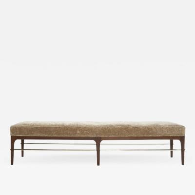 Carlos Solano Granda Walnut Linear Bench by Stamford Modern
