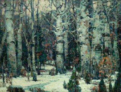 John Fabian Carlson Woodland Idyll