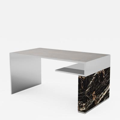 Carlyle Collective Continuous Marble Writing Table