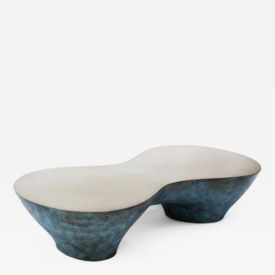 Carlyle Collective Tombos Patinated Coffee Table