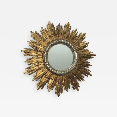 Carlyle Collective Vintage French Giltwood Sunburst Mirror