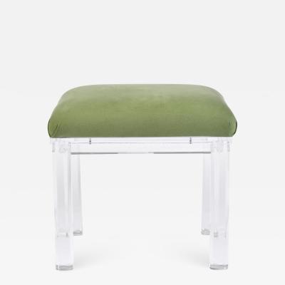 Carmichael American Lucite stool by Carmichael