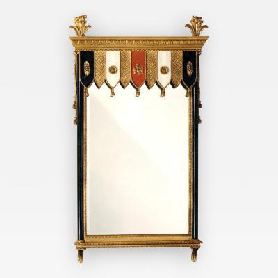 Carol Canner Carvers Guild Heraldic Pavilion Mirror