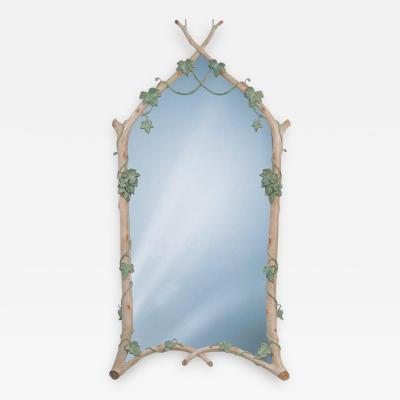 Carol Canner Carvers Guild Twig Ivy Mirror