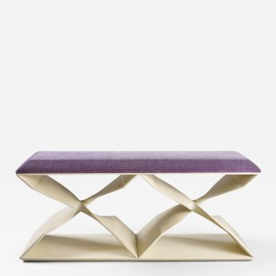 Carol Egan Sculptural Twist Bench
