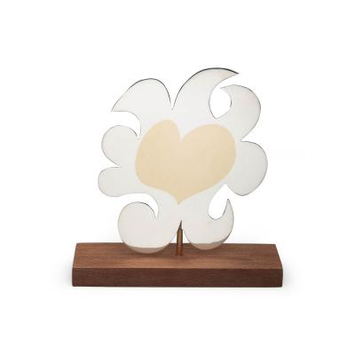 Carol Summers CAROL SUMMERS SUN HEART LIMITED EDITION NO 37 50 PENDANT BROOCH SCULPTURE