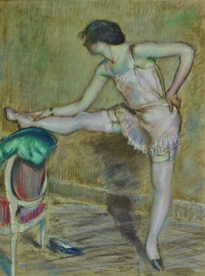 Carroll Sargent Jr Tyson Young Woman in her Boudoir