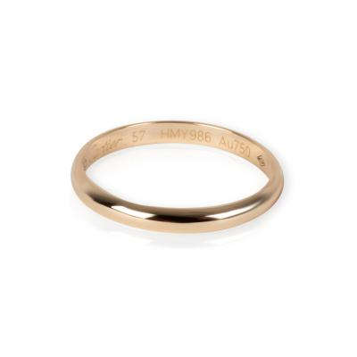 Cartier 1895 Wedding Band in 18K Yellow Gold