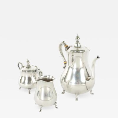 Cartier Sterling Silver Tea Coffee Service