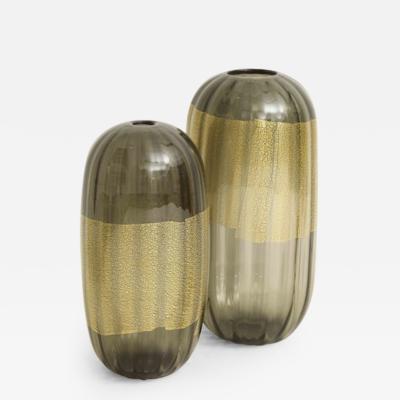 Cartwright Cartwright Laterna Vases Smoky Quartz