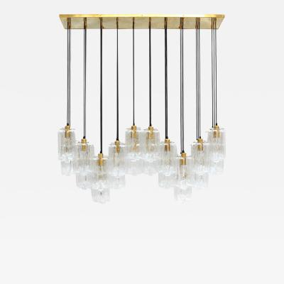 Carved Crystal Suspension Lamp