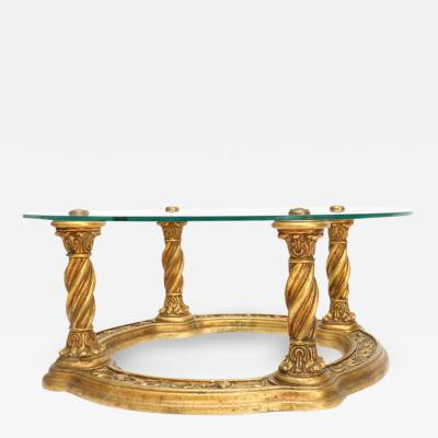 Carved Giltwood Coffee Table