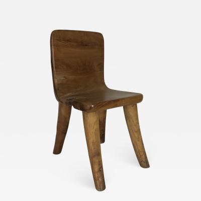 Carved Teak Chair 1