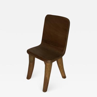 Carved Teak Chair 3