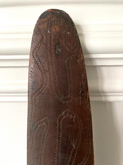 Carved Wood Aboriginal Shield Western Australia