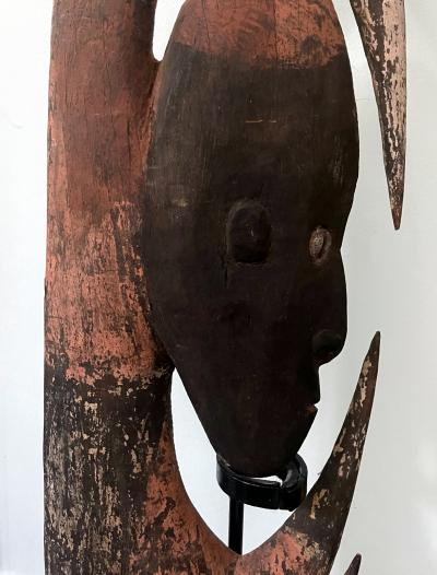 Carved Wood Yipwon Figure from Papua New Guinea