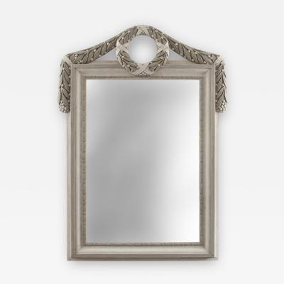 Caspar Frederik Harsdorff C F Harsdorff Attributed Danish Neoclassical Painted Mirror