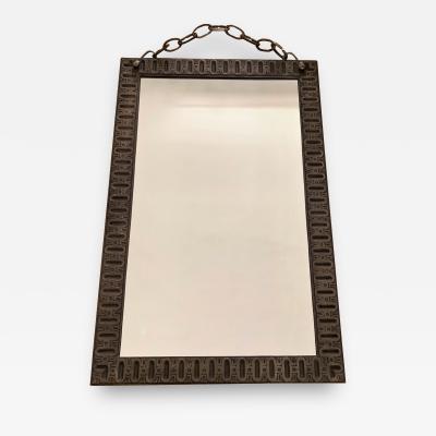 Cast Bronze Mirror