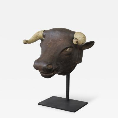 Cast Iron Bull Head Perfume Dispenser