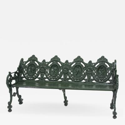 Cast Iron Garden Bench 1880