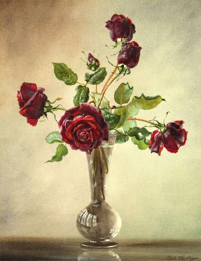 Cecil Kennedy Red Roses