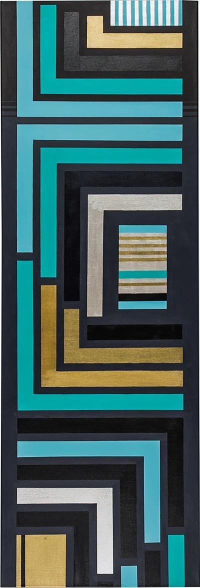 Cecilia Setterdahl Blue Maze