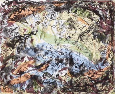 Cecily Brown What the Shepherd Saw