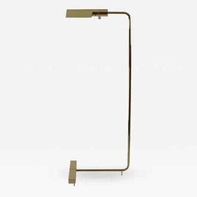 Cedric Hartman Cedric Hartman Brass Floor Lamp Signed USA 1960s