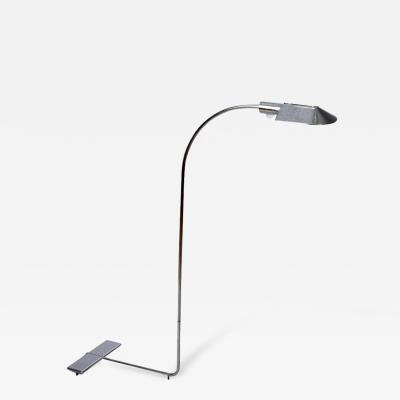 Cedric Hartman Chrome Floor Lamp by Cedric Hartman