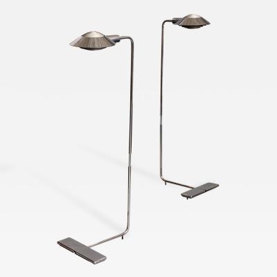 Cedric Hartman Pair of Lamps by Cedric Hartman